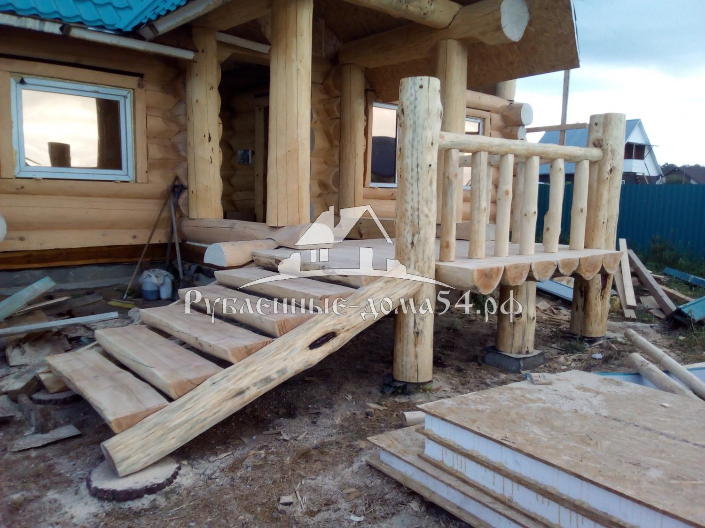 Как построить деревянное крыльцо своими руками: инструкция и 64